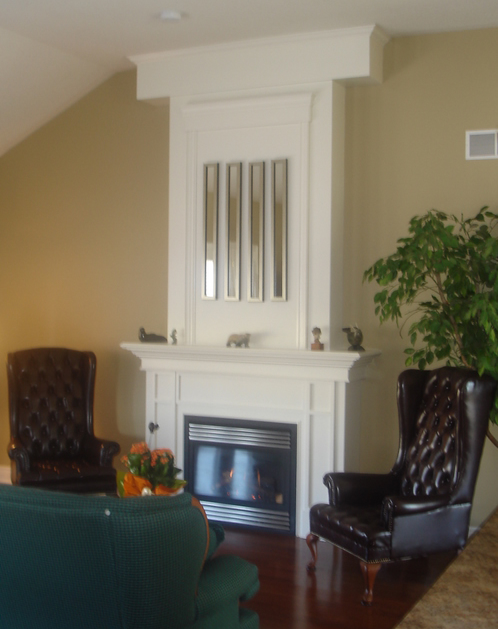 Tall Customer Fireplace Mantel